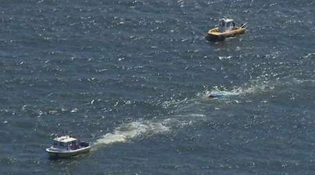 The U.S. Coast Guard searched for others after