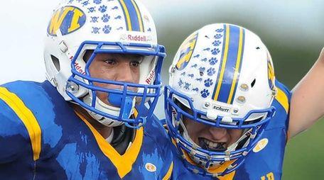 West Islip's Antonio Alicea, left, and Jake Nicolosi,