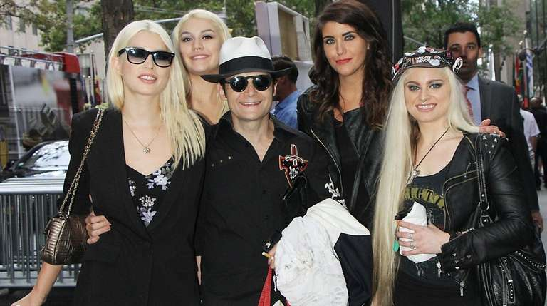 Corey Feldman and his band leave the