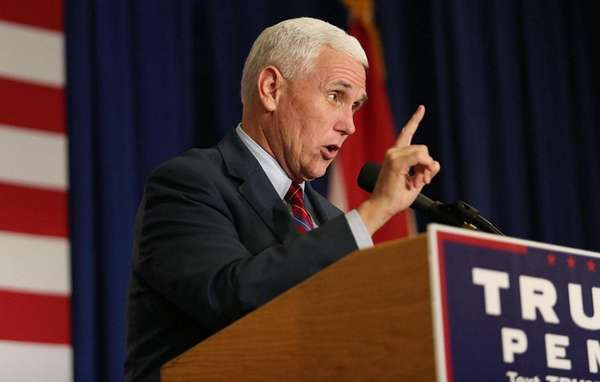 Mike Pence says he hopes to emulate Dick