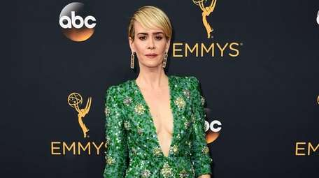 Sarah Paulson arrives at the 68th Primetime Emmy