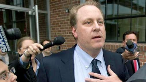 Former Boston Red Sox pitcher Curt Schilling is
