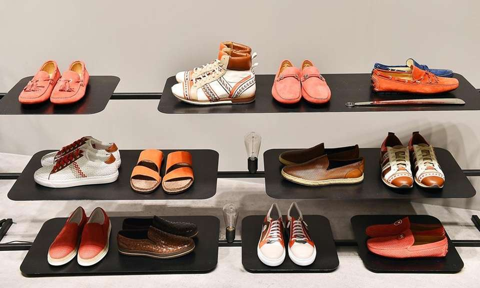 Italian shoe maker Baldinini opened its first New