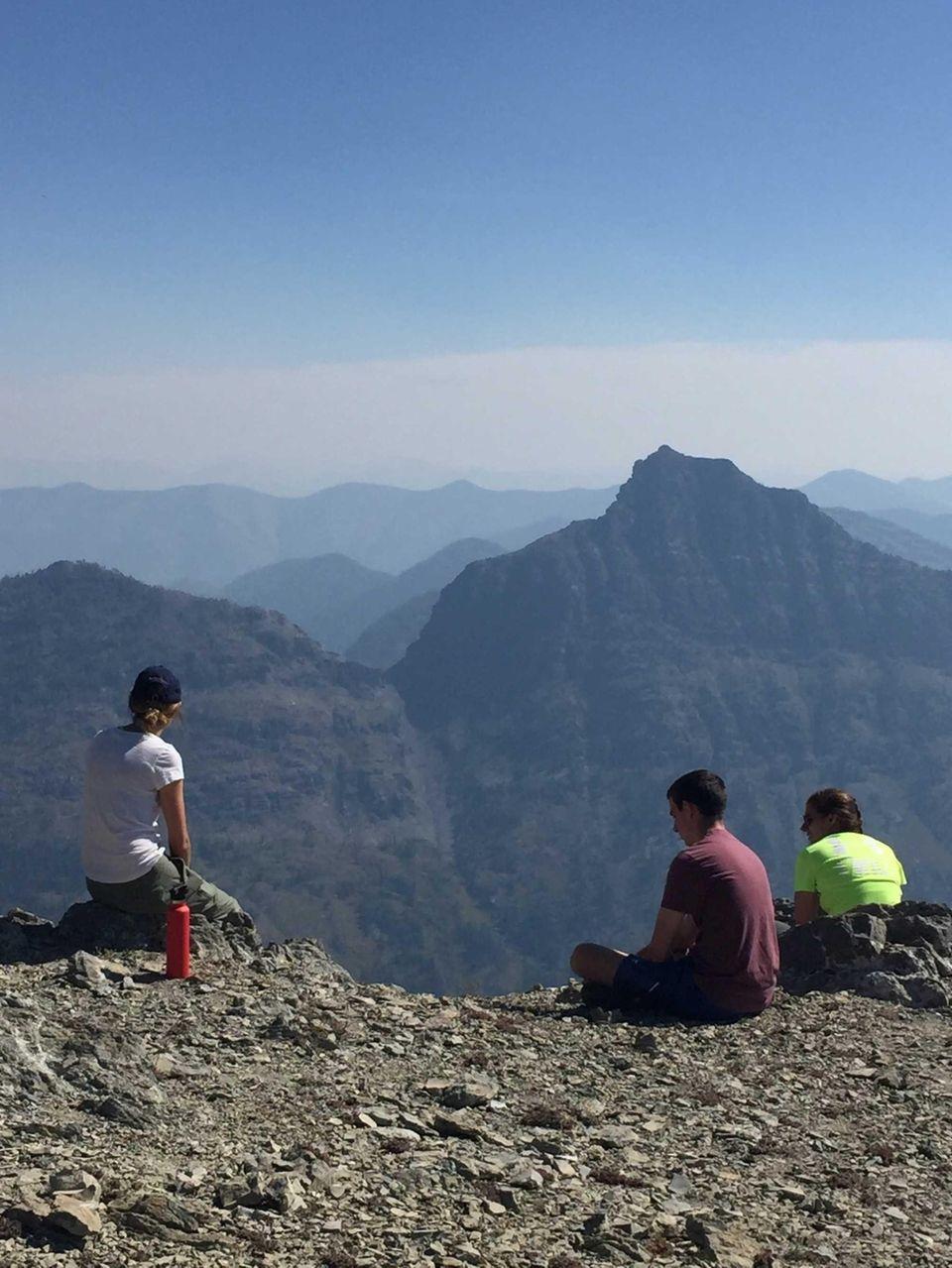 Kristen, Lauren and Danny Lipari Swan Mountain, Montana