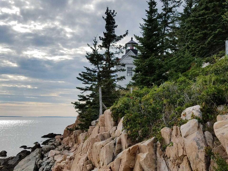 8/28/16 - Bass Harbor Lighthouse, Acadia National Park.
