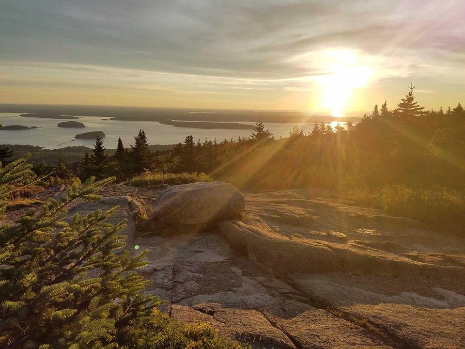 8/30/16 - Cadillac Mountain, Acadia National Park, Maine.