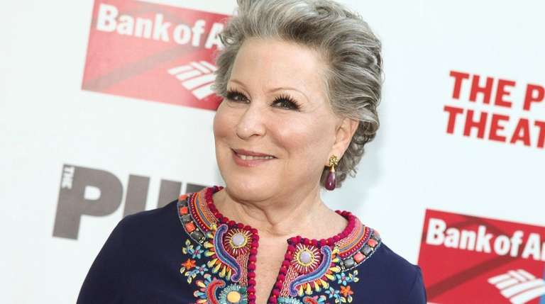 Bette Midler has previously set two records for