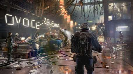 Deus Ex: Mankind Divided's world is beautifully realized,