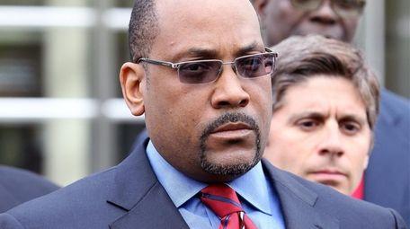 Former State Senator John Sampson is seen in