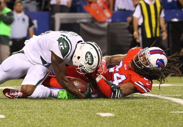 New York Jets wide receiver Brandon Marshall is