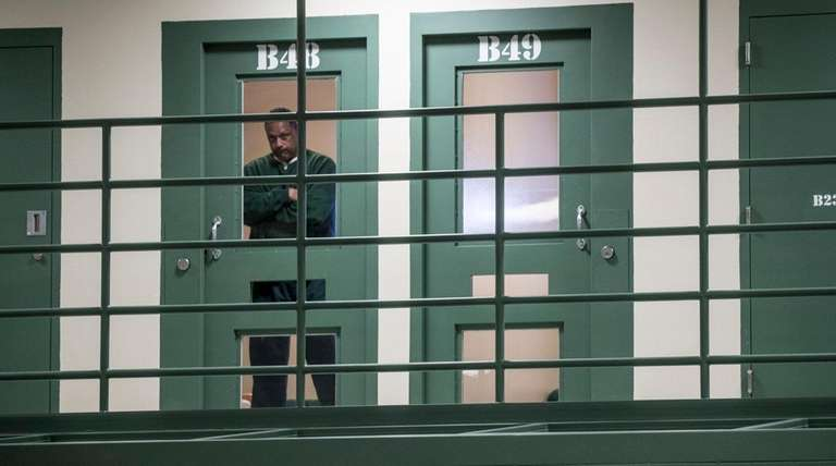 About 20 prisoners are housed in the Suffolk