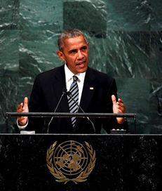 President Barack Obama addresses the 71st session of