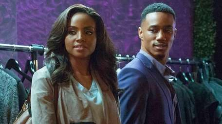 Meagan Tandy and Jessie T. Usher star in