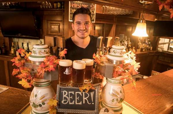 Marco Messina, a brew master from Germany, at