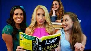 Brittany Lacey, center, stars as Elle Woods in