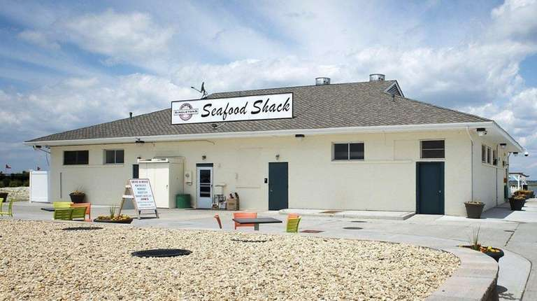 The Seafood Shack at Tobay Beach in Massapequa
