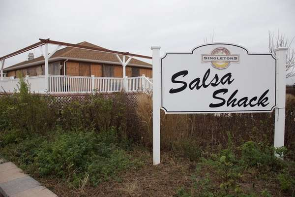 Singletons Salsa Shack at Tobay Beach on Dec.
