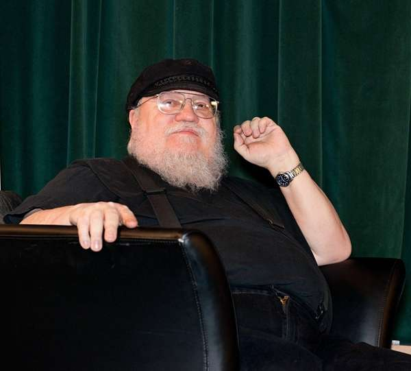 George R. R. Martin is still writing