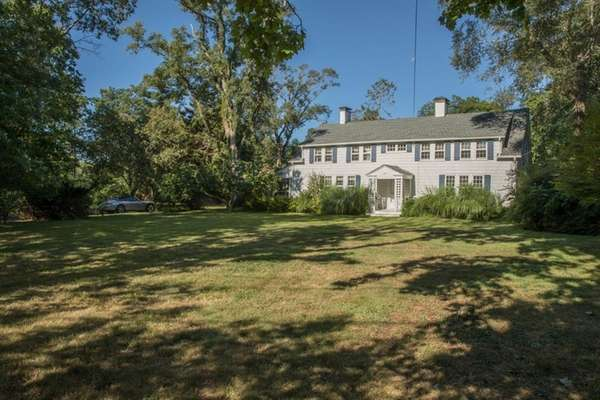 The starting bid on this renovated Colonial with