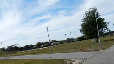 Newbridge Road Park in Bellmore is seen in