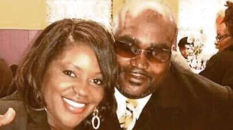Terence Crutcher with his twin sister, Tiffany. Crutcher,