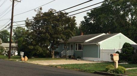 The house where Maria Mena lives in Edison,