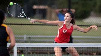 Half Hollow Hills East's Gina LaRusso with the