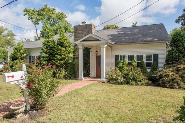 This ranch in Bellport is on the market