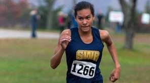 Shoreham-Wading River girls cross country runner Katherine Lee