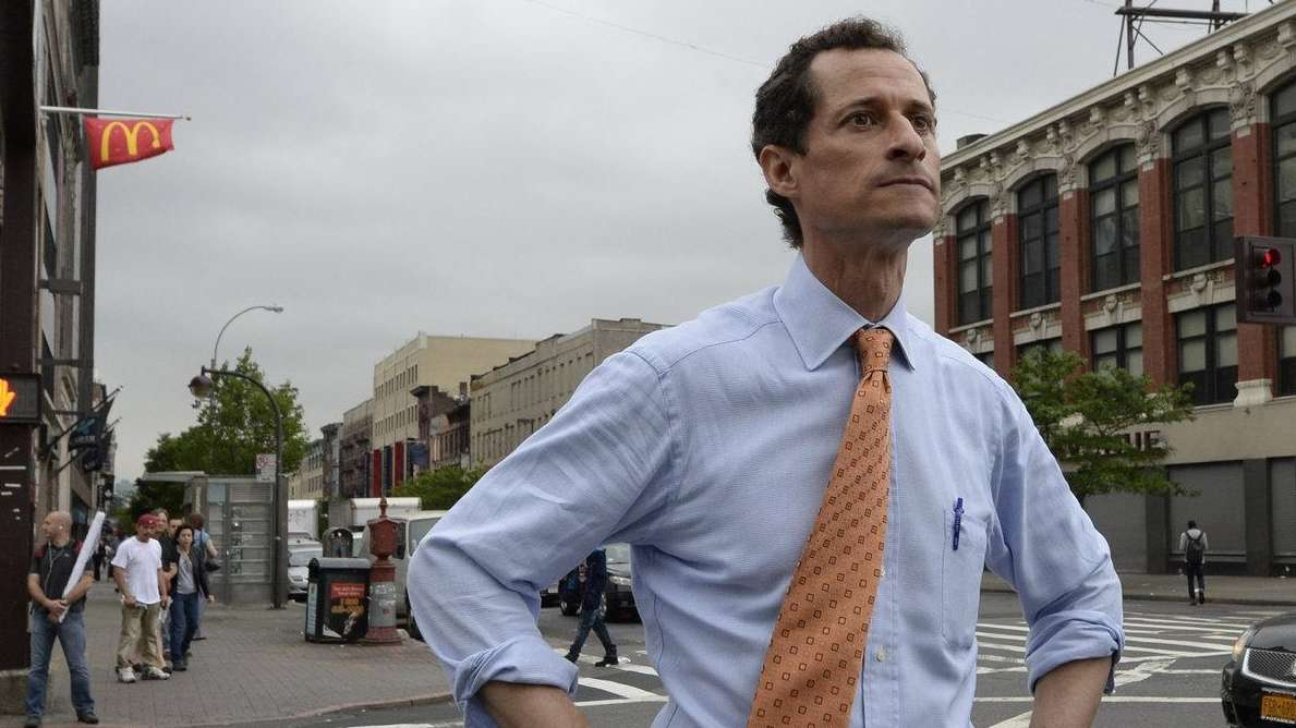 Former congressman Anthony Weiner, who has been embroiled