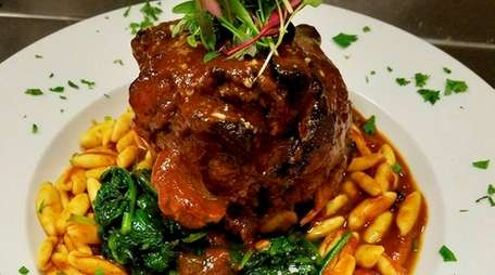 Pork shank osso buco is on the menu