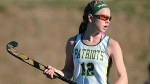 Kerri Thornton of Ward Melville looks on during