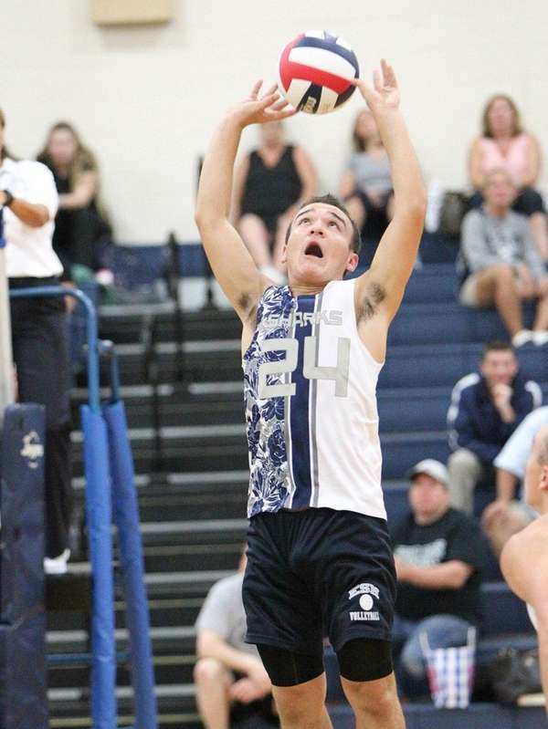 Eastport South Manor's Parker Bachisin (24)during the Suffolk