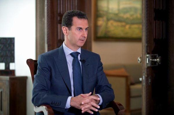 Syrian President Bashar Assad speaks to The Associated