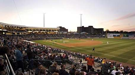 The Ducks in action at the then-Citibank Park