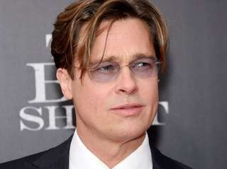 Actor Brad Pitt attends the premiere of