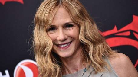 Holly Hunter attends a premiere on March 20,