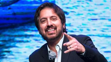 Ray Romano performs at a comedy benefit on