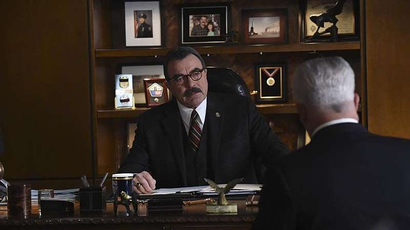If fictional NYPD Commissioner Frank Reagan (Tom Selleck)