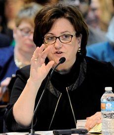 New York State Education Commissioner MaryEllen Elia, speaks