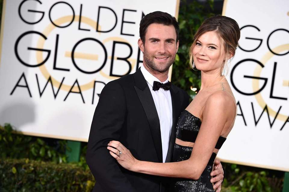 Parents: Adam Levine and Behati Prinsloo Child: Gio