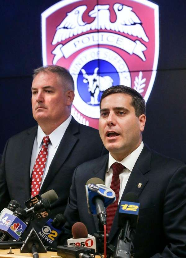 At a press conference in Yaphank on Thursday,