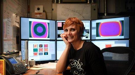 Portrait of Associate Physicist, Chiara La Tessa in