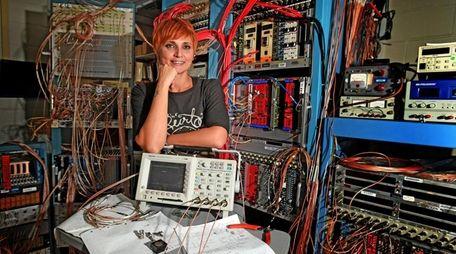 Chiara La Tessa, a researcher in the Collider-Accelerator