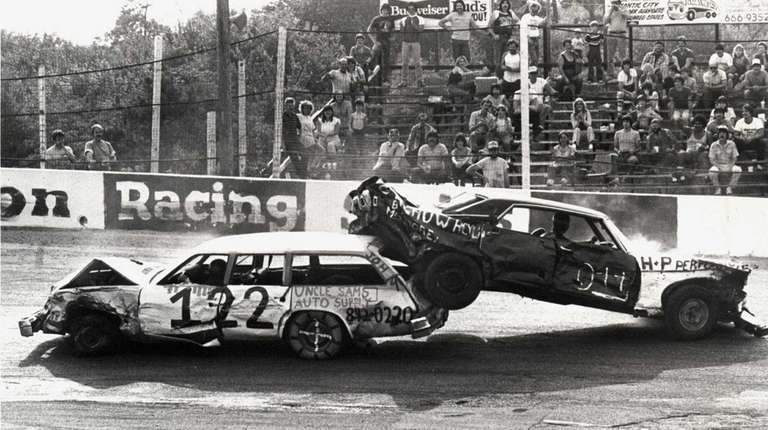 Islip Speedway in Islip (1984)