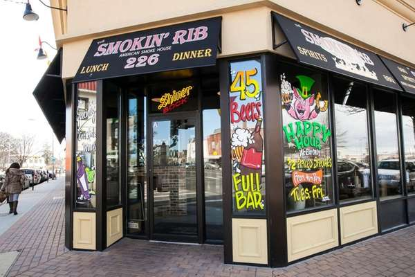 The Smokin' Rib, which opened in January in