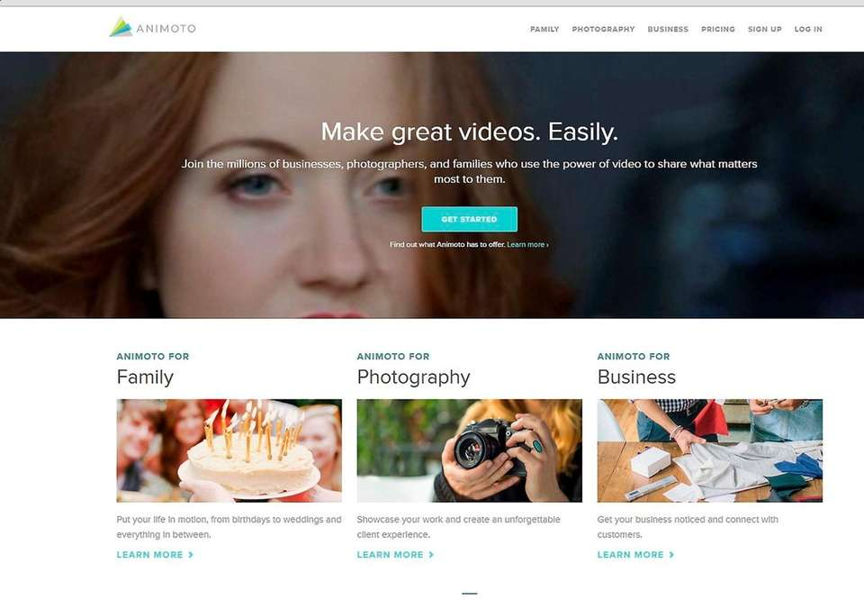 NAME Animoto Video Maker WHAT IT DOES The
