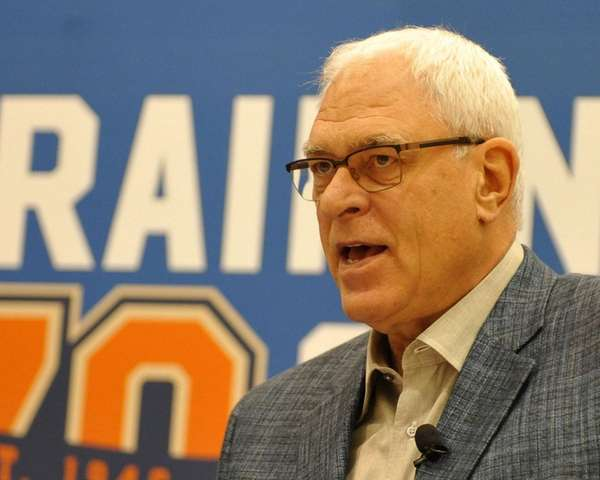 Phil Jackson, president of the New York Knicks