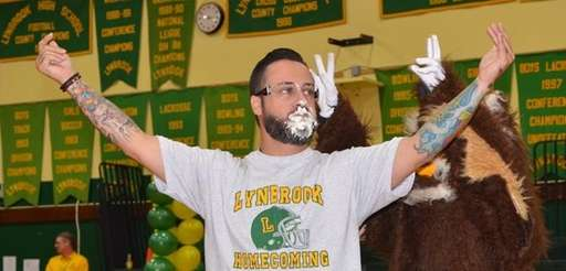 Lynbrook High School art teacher Thomas Sena was