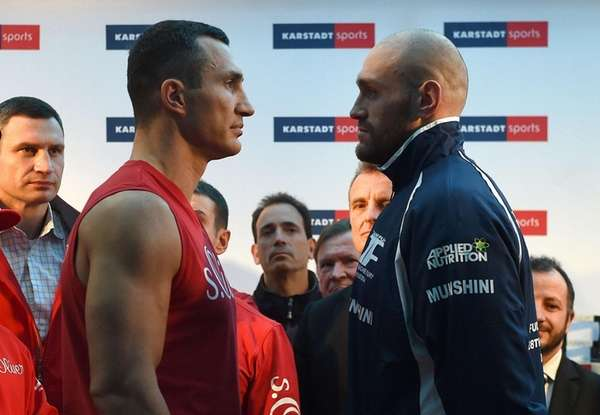 Britain's controversial world heavyweight champion Tyson Fury's title
